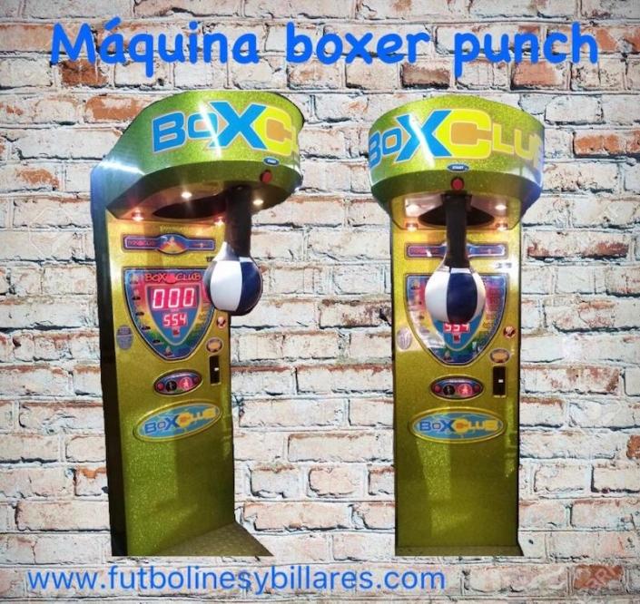 Alquiler máquina boxer punch