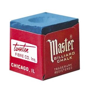 Caja de tizas Master para tacos de billar
