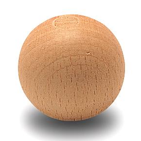 Juego de 10 bolas de futbolín de madera
