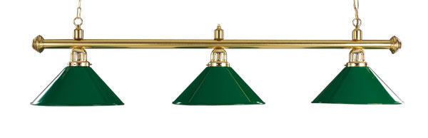 Lámpara de 3 focos para billar