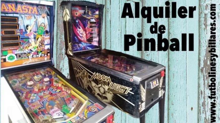 Alquiler Pinball